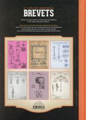 Brevets ; l'invention du quotidien - 4ème de couverture - Format classique