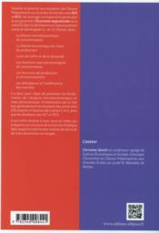 Economie Approfondie En 15 Themes - 4ème de couverture - Format classique