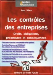 Les contrôles en entreprises - Couverture - Format classique
