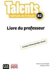 TENDANCES ; niveau B2 ; livre du professeur ; version anaya (édition 2018) - Couverture - Format classique