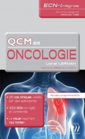 Qcm en oncologie ; nouveau programme ECNI - Couverture - Format classique
