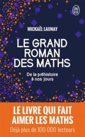 Le grand roman des maths ; de la préhistoire à nos jours - Couverture - Format classique