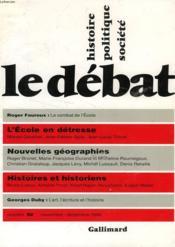 Revue Le Débat N.92 - Couverture - Format classique