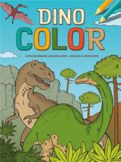 Dino color bloc de coloriage - Couverture - Format classique