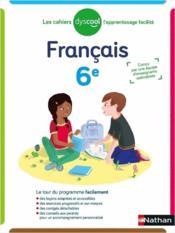 Français ; 6e (édition 2020) - Couverture - Format classique