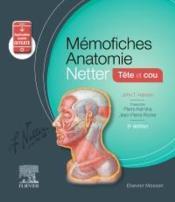 Mémo-fiches ; anatomie Netter ; tête et cou (5e édition) - Couverture - Format classique
