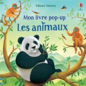 Les animaux : mon livre pop-up - Couverture - Format classique