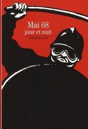 Mai 68 ; jour et nuit - Intérieur - Format classique