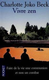 Vivre Zen - Couverture - Format classique