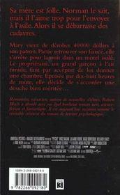 Psycho - 4ème de couverture - Format classique