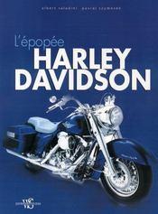 L'épopée Harley Davidson - Intérieur - Format classique