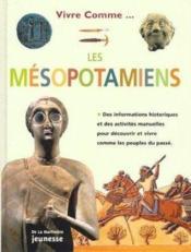 Mesopotamiens (les) - Couverture - Format classique