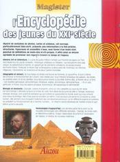 Encyclopedie Des Jeunes Du Xxi E Siecle - 4ème de couverture - Format classique