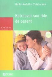 Retrouver son rôle de parent - Intérieur - Format classique
