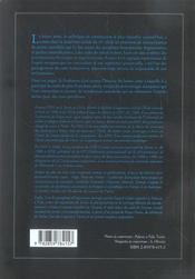 Cinquante ans d'histoire du beton arme 1950-2000 - 4ème de couverture - Format classique