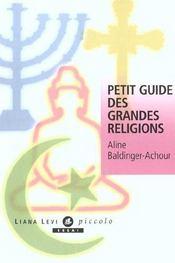 Petit guide des religions - Intérieur - Format classique