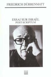 Essai Sur Israel, Postscriptum - Intérieur - Format classique