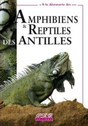 Amphibiens et reptiles des antilles - Couverture - Format classique