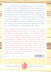 Du livre et de la culture - 4ème de couverture - Format classique
