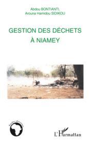 Gestion des déchets à Niamey - Couverture - Format classique