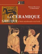 La céramique grecque d'Italie méridionale et de Sicile - Couverture - Format classique