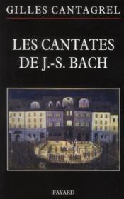 Les cantates de J.-S. Bach - Couverture - Format classique
