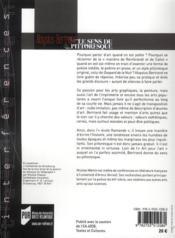 Aloysius Bertrand, le sens du pittoresque - 4ème de couverture - Format classique