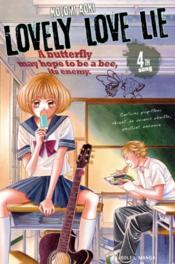 Lovely love lie T.4 - Couverture - Format classique