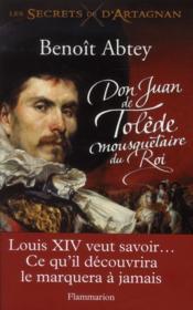Don Juan de Tolède, mousquetaire du roi - Couverture - Format classique