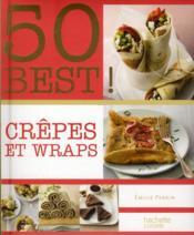 Crêpes et wraps - Couverture - Format classique