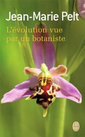 L'évolution vue par un botaniste - Couverture - Format classique