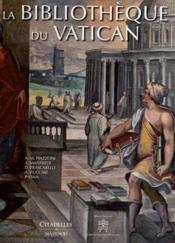 La bibliothèque du Vatican - Couverture - Format classique