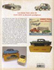 Dinky toys série 24 ; 1949-1959 ; décennie prodigieuse - 4ème de couverture - Format classique