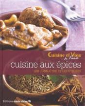 Cuisine aux épices - Couverture - Format classique
