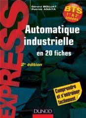 Automatique industrielle en 20 fiches (2e édition) - Couverture - Format classique