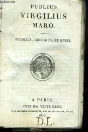 Bucolica, Georgica Et Aeneis - Couverture - Format classique