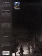 Paris maléfices t.1 ; la malédiction de la tour Saint-Jacques - 4ème de couverture - Format classique