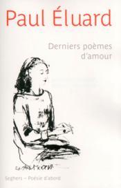 Derniers poemes d'amour - ne 2013 - Couverture - Format classique