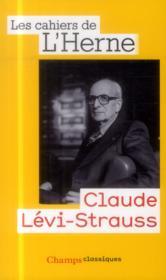Claude Lévi-Strauss - Couverture - Format classique