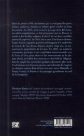 Selon Vincent - 4ème de couverture - Format classique