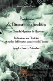 Énigmes & disparitions insolites - Couverture - Format classique