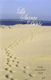 Bible segond 1910 couleur - Couverture - Format classique