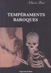 Tempéraments baroques - Couverture - Format classique
