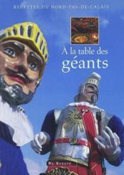 À la table des géants - Couverture - Format classique