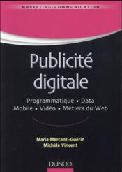 La publicité digitale - Couverture - Format classique