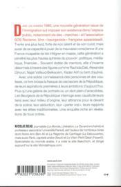 Les beurgeois de la République - 4ème de couverture - Format classique