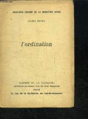 L'Ordination - Couverture - Format classique