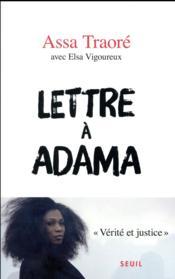 Lettre à Adama - Couverture - Format classique