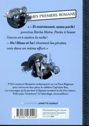 Pavillon noir T.1.2 ; une vie de pirates - 4ème de couverture - Format classique