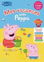 Mes vacances avec Peppa ; j'entre en PS - Couverture - Format classique